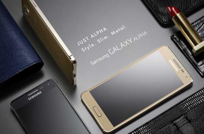 Samsung Galaxy Alpha è ufficiale   Caratteristiche ed immagini del primo smartphone in metallo Samsung