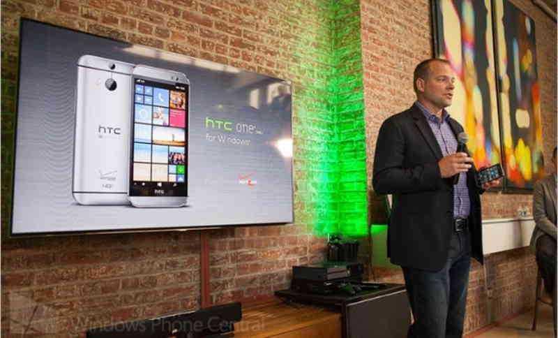 Annunciato l'HTC One M8 con Windows Phone 8.1