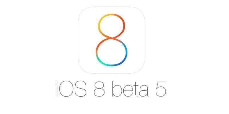 Ios 8 Beta 5, ecco tutte le novità