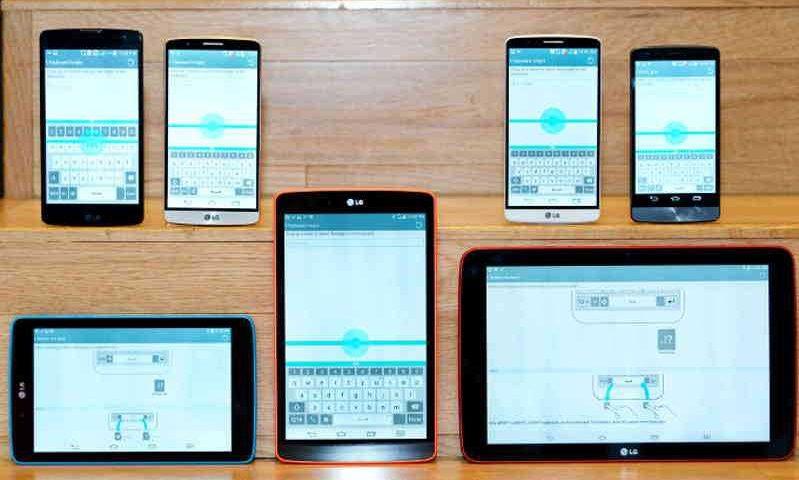 L'interfaccia LG UX del G3 in arrivo su tutti smartphone e tablet 2014 di LG