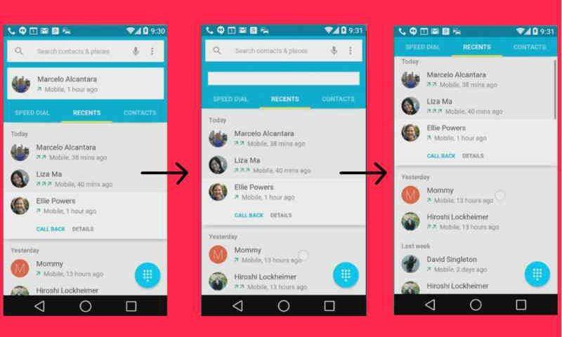 Material Design viene spiegato attraverso l'app ufficiale del Google I/O