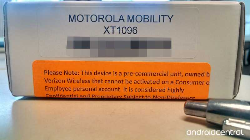 Motorola XT1096