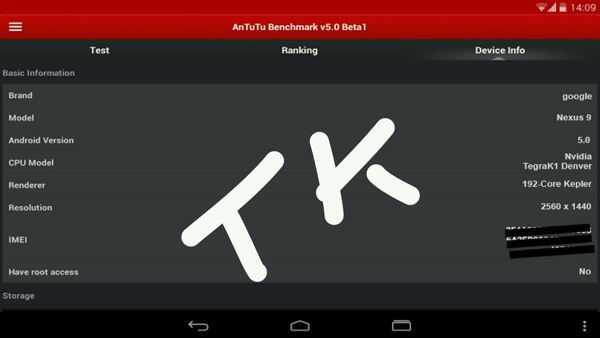 Google Nexus 8.9 LTE