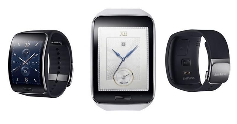 |Ufficiale| Samsung Gear S primo smartwatch 3G con display curvo al mondo e le cuffie Gear Circle per smartwatch!