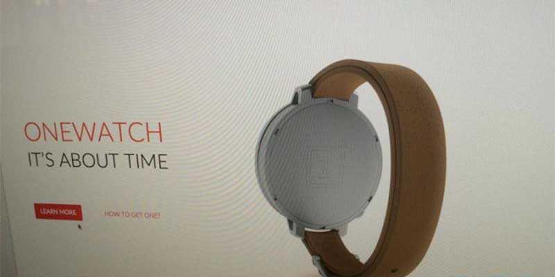 One Watch, in arrivo dalla OnePlus l'imitazione di Moto 360