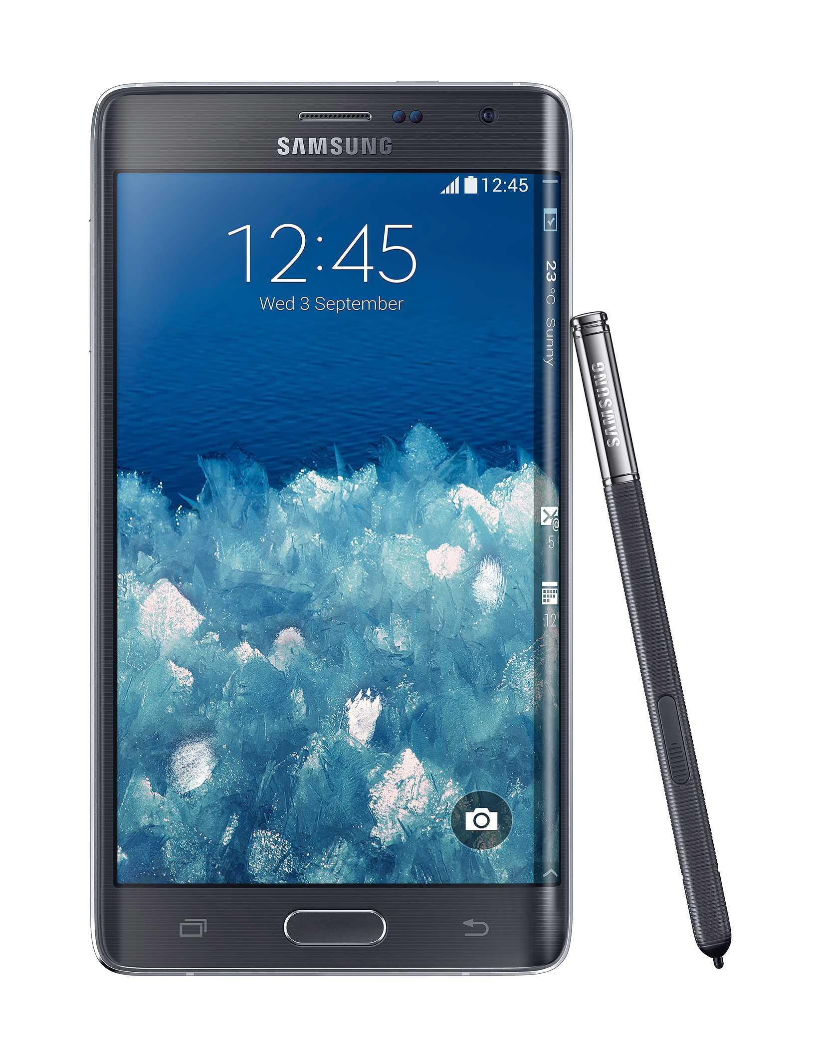 Samsung Galaxy Note Edge con schermo curvo è ufficiale