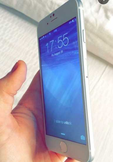 iPhone 6 acceso