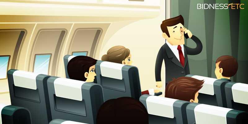 L'EASA approva i cellulari in aereo