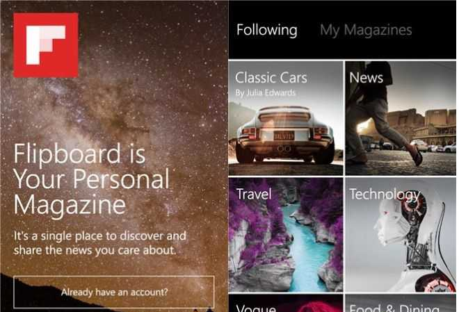 Flipboard per Windows Phone finalmente in arrivo