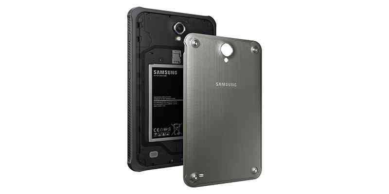 Galaxy Tab Active: il primo tablet di Samsung resistente all'acqua