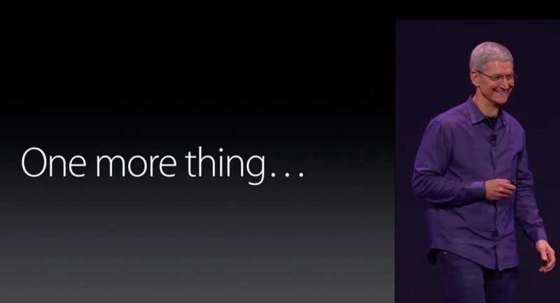 Evento Apple del 9 settembre disponibile in HD su YouTube