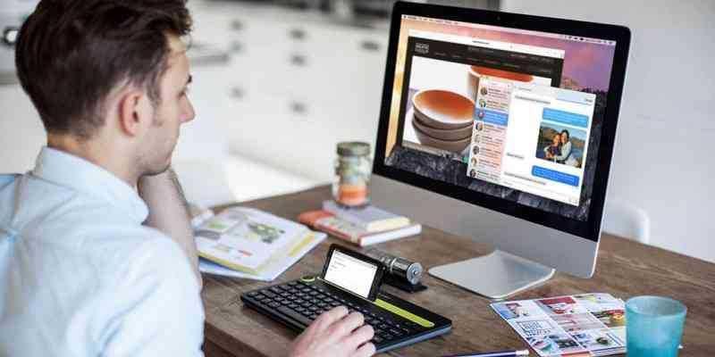 Da Logitech la tastiera che lavora con computer, smartphone e tablet