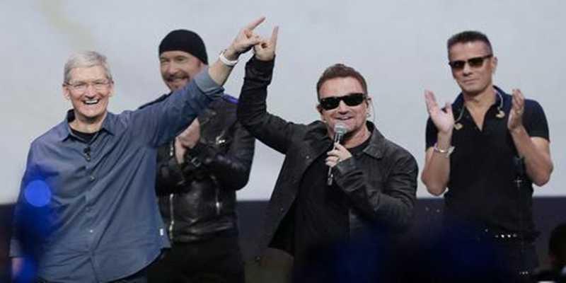 Come rimuovere gli U2 (l'album offerto in omaggio da Apple) da iTunes nell'iPhone