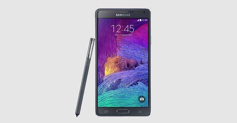 Galaxy Note 4 presentato ufficialmente