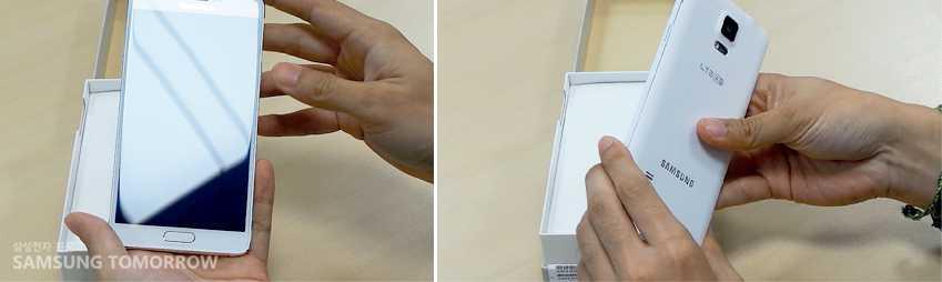 Samsung presenta il primo unboxing Galaxy Note 4