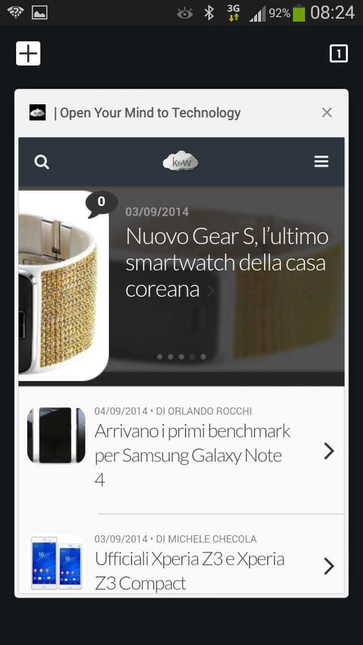 Chrome per Android riceve la Material Design