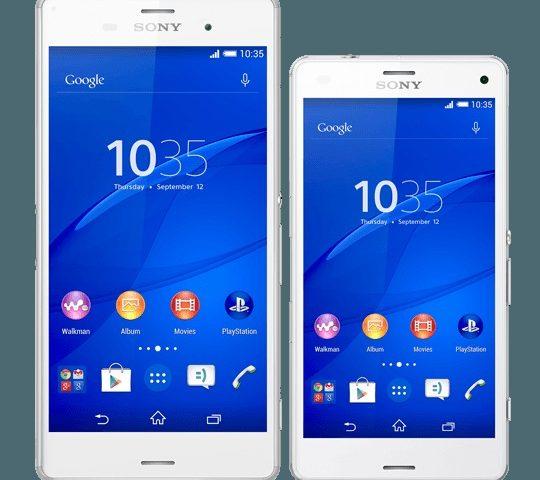 Sony lancia Xperia Z3 e Xperia Z3 Compact in India, presto anche in Italia