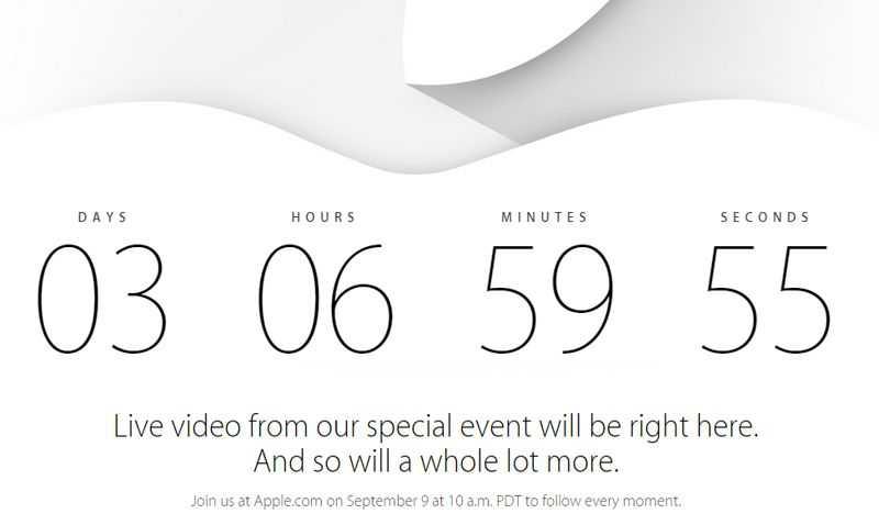 Apple Store offline in attesa dell'evento delle 19!