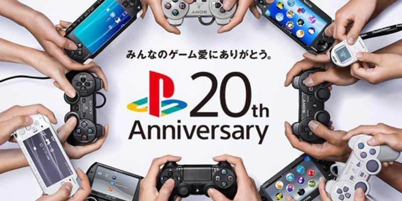 Sony celebra i 20 anni della Playstation con un video celebrativo