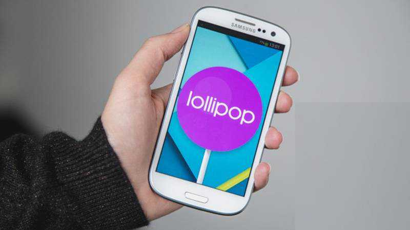 android lollipop per Galaxy S3