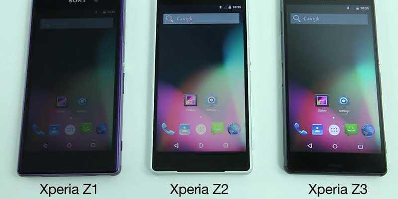 Sony esegue Android 5.0 AOSP su i suoi modelli top Xperia