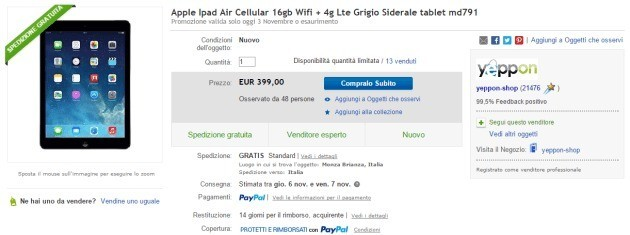ipad air ebay