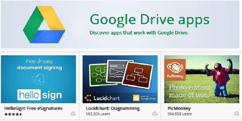 Google Drive, con Chrome si possono aprire file in locale