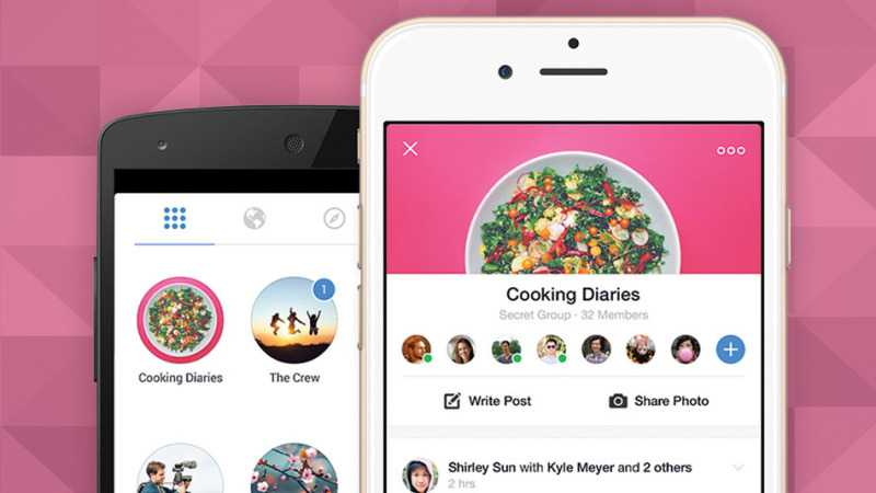Facebook Groups sbarca su iOS e Android