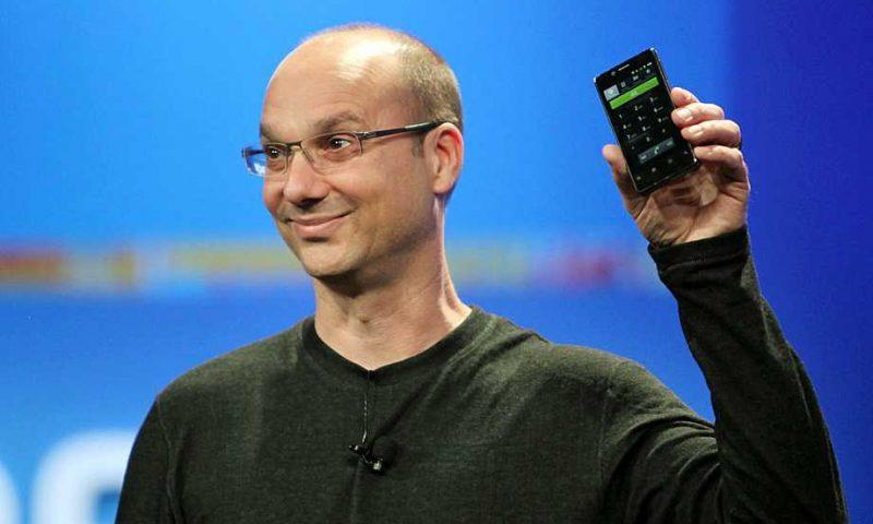 Papà Andy Rubin abbandona Android