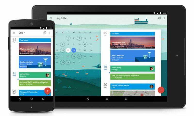 Google Calendar è ufficialmente disponibile nel Play Store