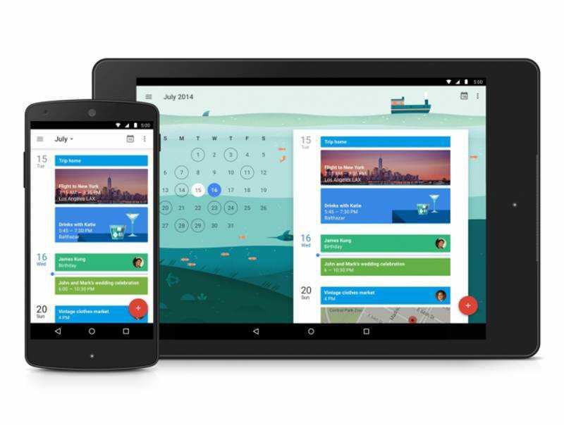 Google Calendar si aggiorna con interfaccia Material Design e tante nuove funzionalità esclusive