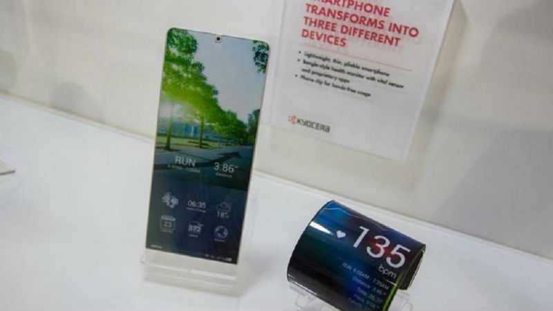 Kyocera presenta Proteus, lo smartphone flessibile