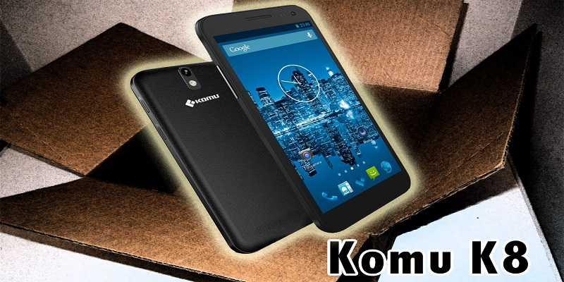 Komu K8 4G: ecco un nuovo top di gamma per metà Novembre