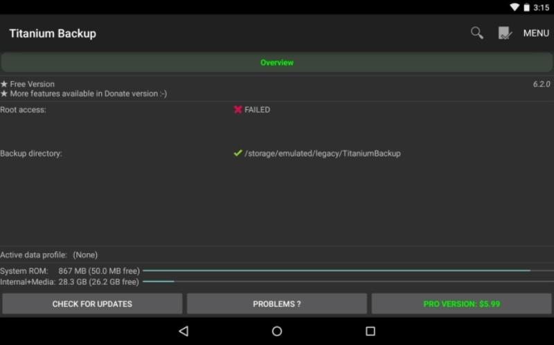 Titanium backup ora compatibile con Android 5.0 Lollipop