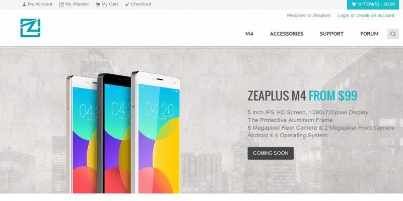 Zeaplus M4, il clone perfetto dello Xiaomi Mi4 disponibile anche per l'Europa