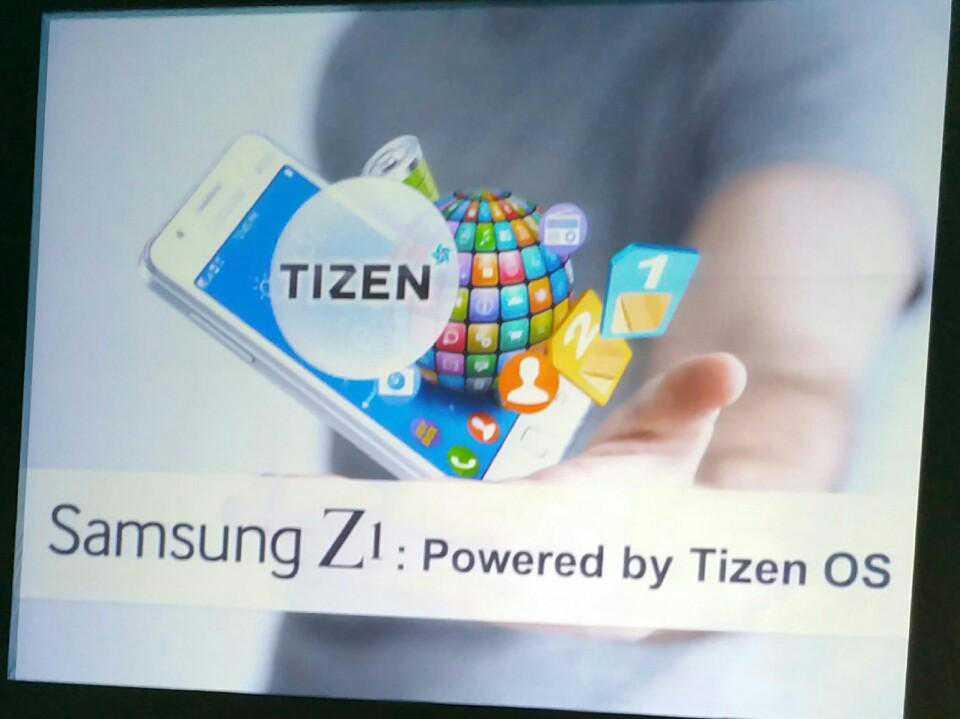 Samsung Z1, ecco specifiche e caratteristiche