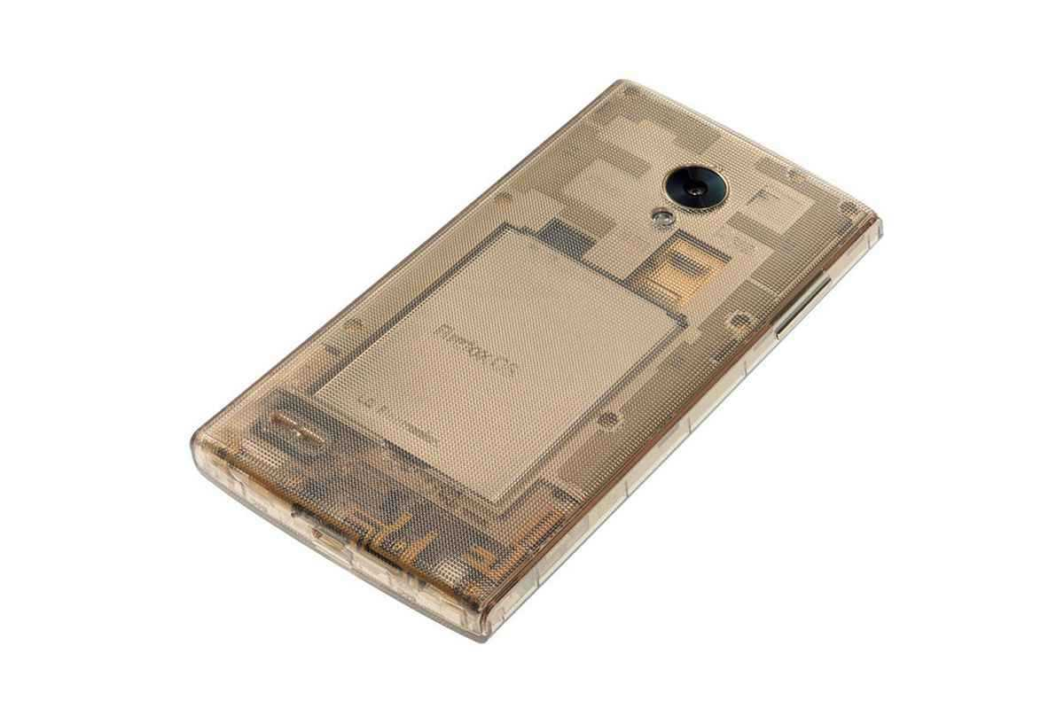 LG FX0, lo smartphone trasparente con Firefox OS in video
