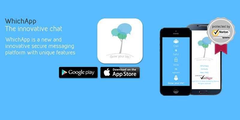 WhichApp, una nuova app di messaggistica sicura e divertente