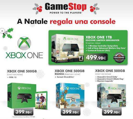 Xbox One in offerta