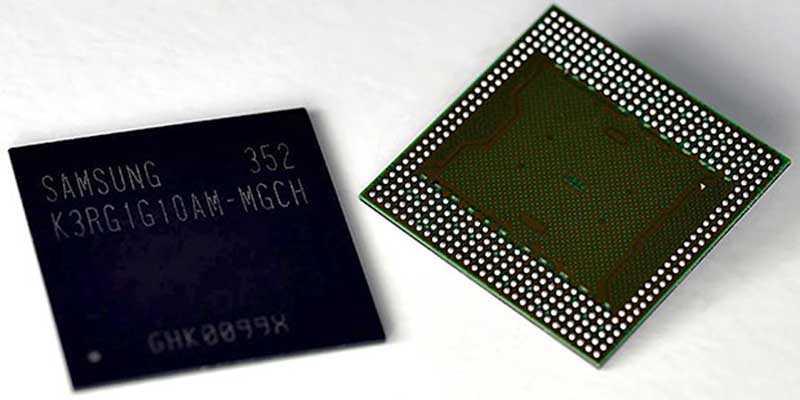 Samsung: produzione di massa per RAM 4 GB (LPDDR4) per cellulare