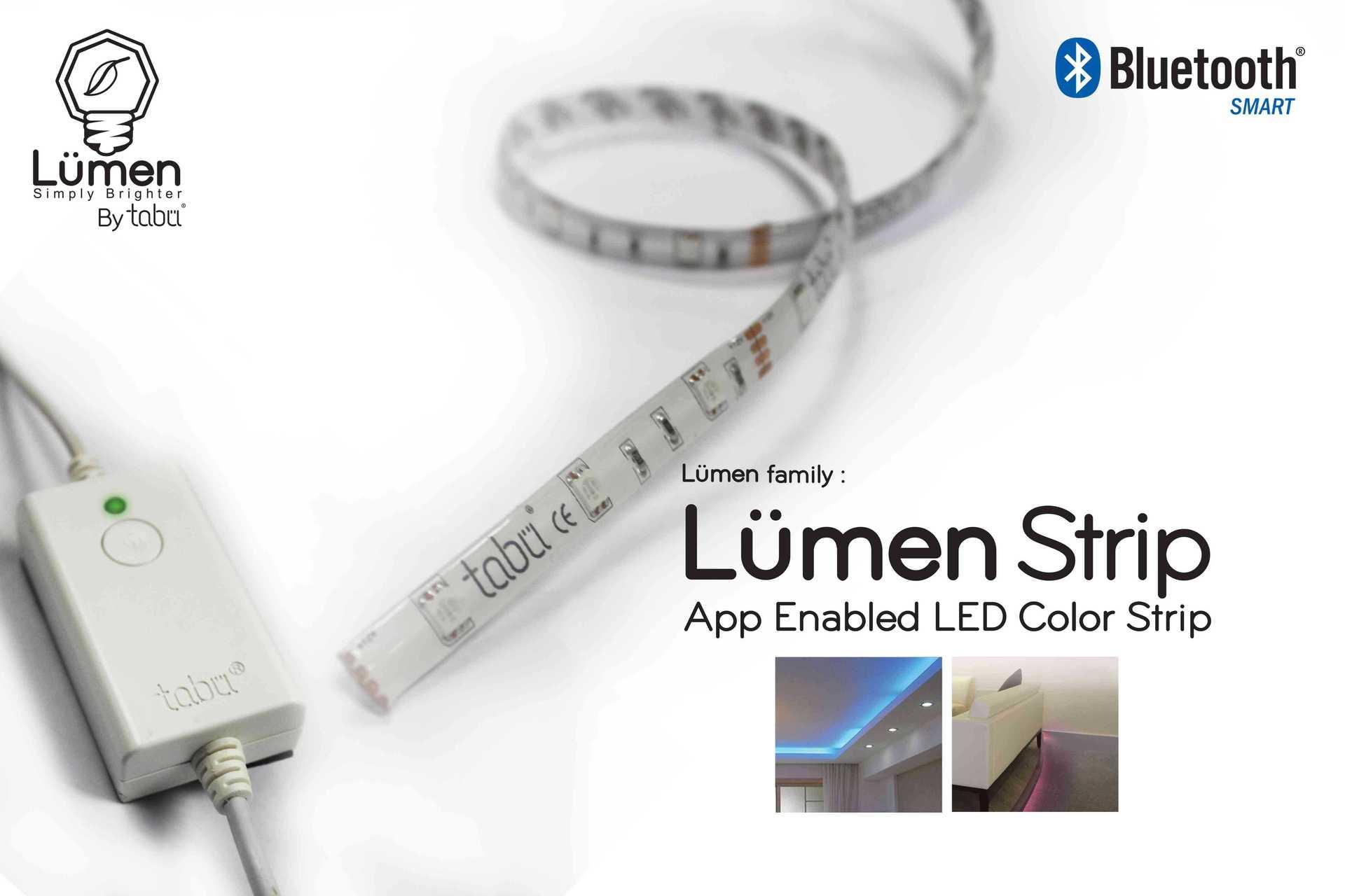 Attiva decora la casa con la luce delle lampade led Lumen Strip