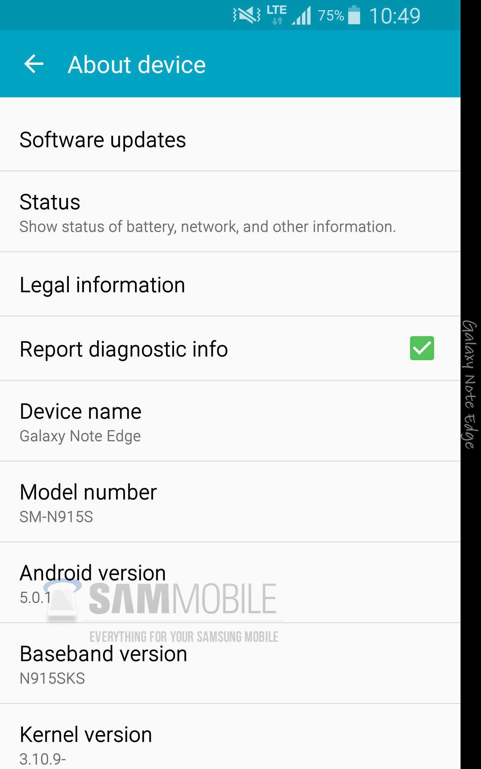 Rumors sostengono che il Galaxy Note 4 e il Galaxy Note Edge salteranno Android 5.0.0