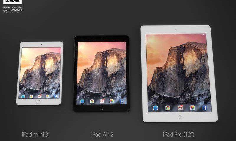 iPad Pro 12 con stilo da Giugno? Ecco le prime immagini