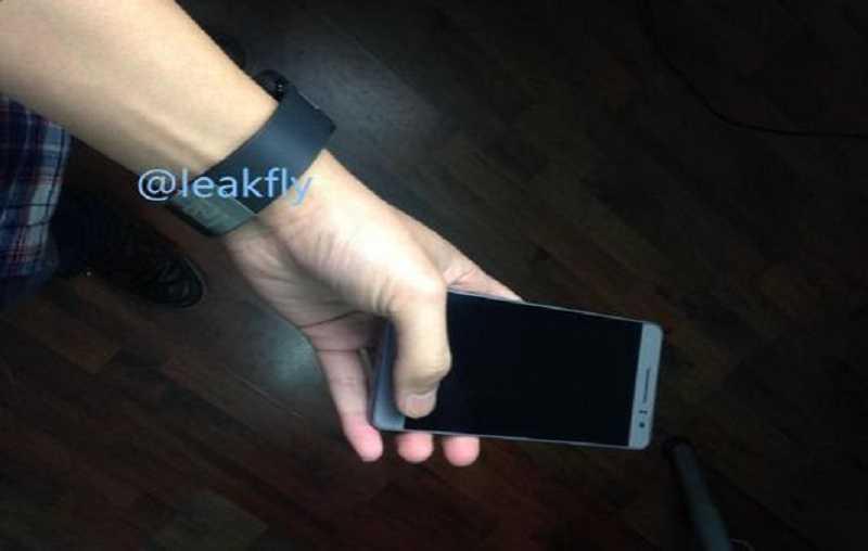 Huawei Mate 7 Compact si mostra finalmente in un immagine leaked