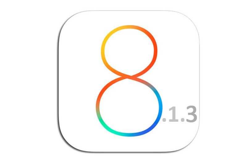 Apple rilascia iOS 8.1.3 per iPhone, iPad ed iPod Touch