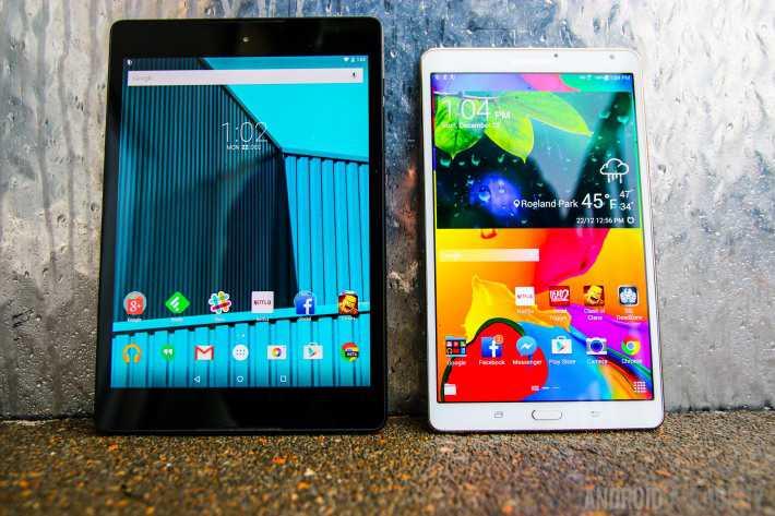 Samsung al lavoro su tablet con formato 4:3