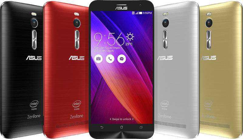 Asus Zenfone 2 annunciato: memoria ram da 4GB