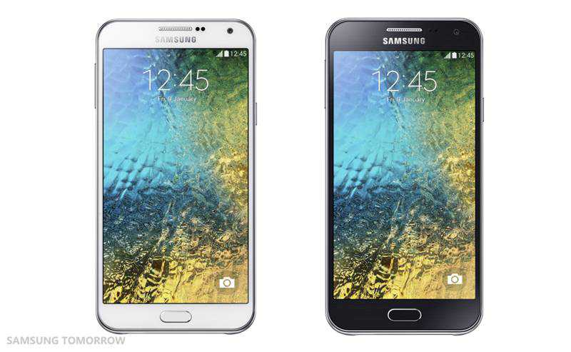 Samsung annuncia Galaxy E5 e Galaxy E7, nuovi smartphone di fascia media