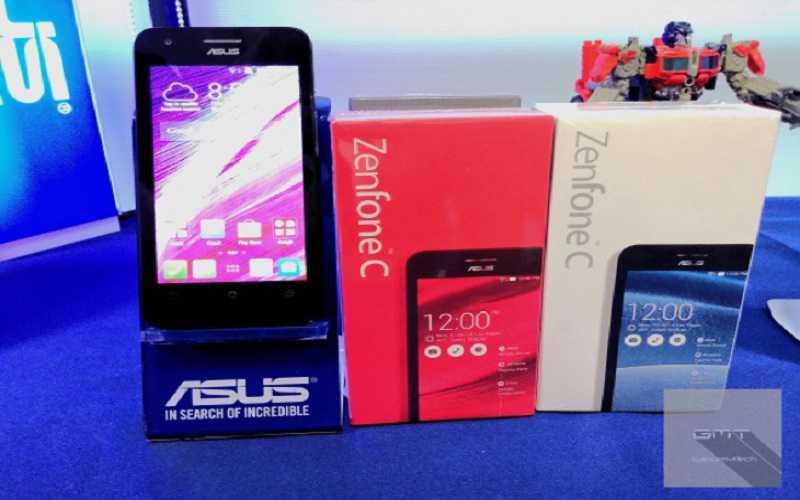 Zenfone C annunciato ufficialmente in Malesia