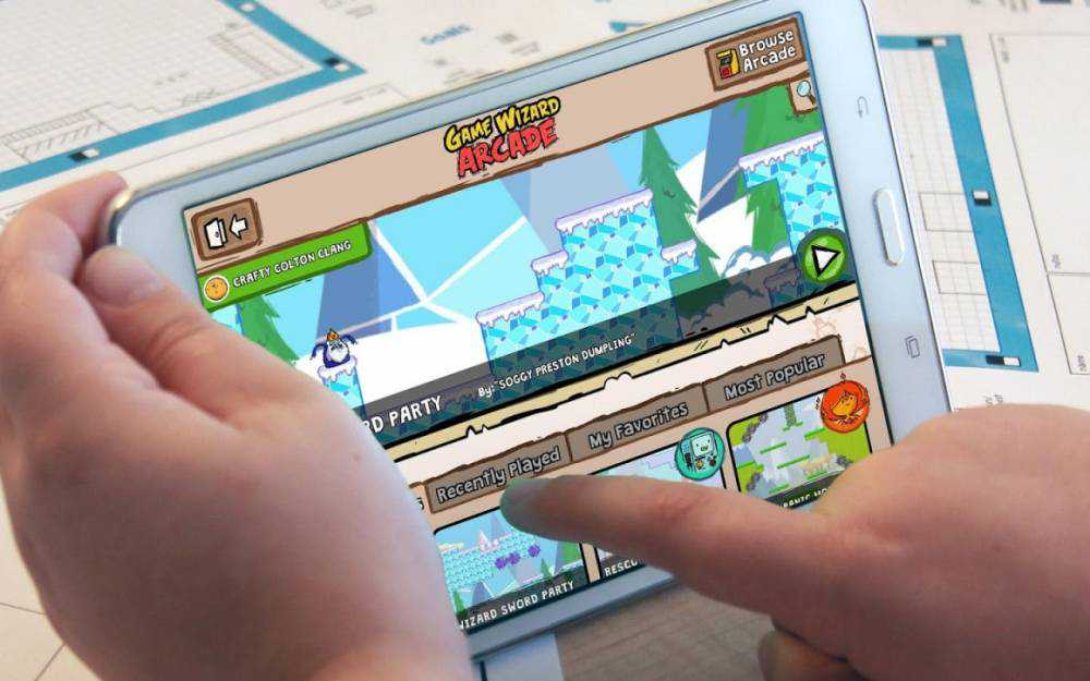 Adventure Time Game Wizard arriva su Android
